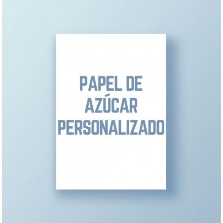 Impresión Papel de azúcar personalizado