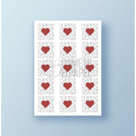 Papel de azúcar galletas San Valentín 2