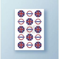 Papel de azúcar galletas London 2