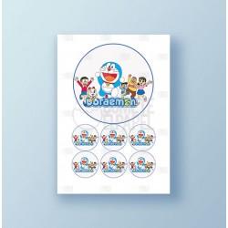 Papel de azúcar tarta Doraemon 2