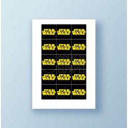 Papel de azúcar galletas Star Wars