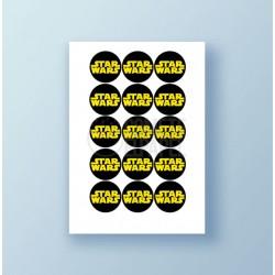 Papel de azúcar galletas Star Wars 2