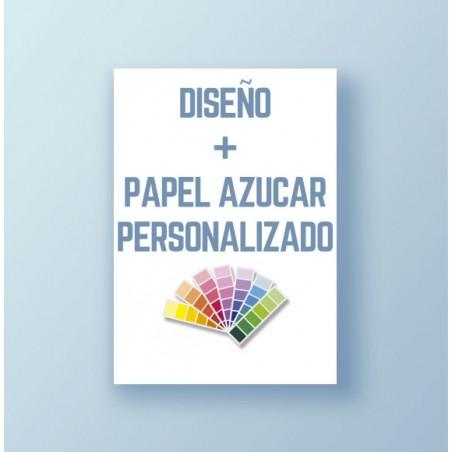 Diseño + Papel de azúcar personalizado