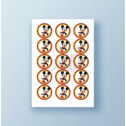 Papel de azúcar galletas Mickey Mouse