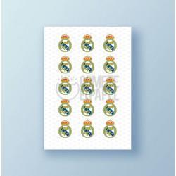 Papel de azúcar galletas Real Madrid