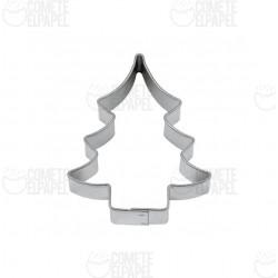 Cortador metálico árbol navidad