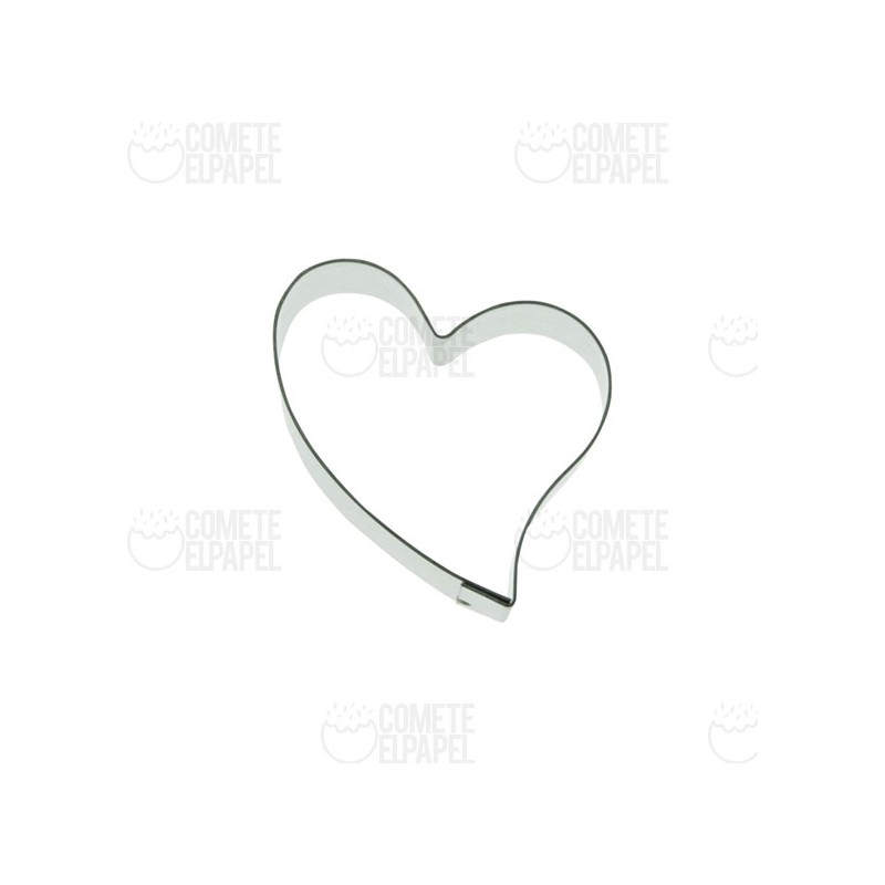 Cortador metálico corazón