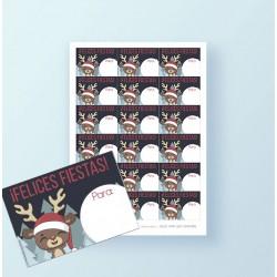 Etiquetas regalos de Navidad GRATIS