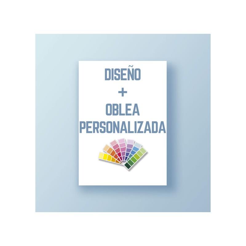 Diseño + Oblea personalizada