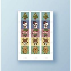 Papel de azúcar galletas Navidad 9